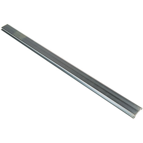 Rail DIN, 225mm x 35mm x 7.5mm Rail oméga en Acier