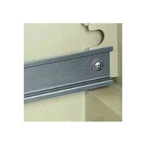 Rail DIN symétrique longueur 180mm - Pour coffret étanche Thalassa H 310 x L 215mm