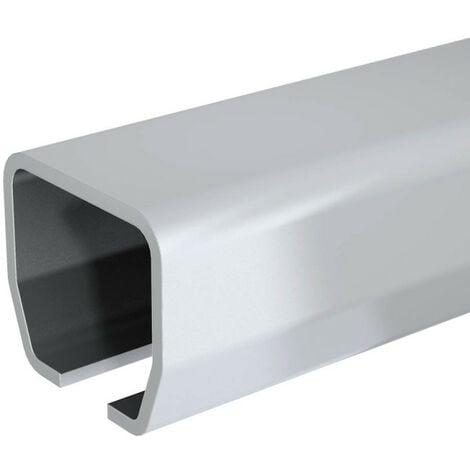 Rail en acier galvanisé SLID'UP 2000 - L 1,95 m - 180 kg