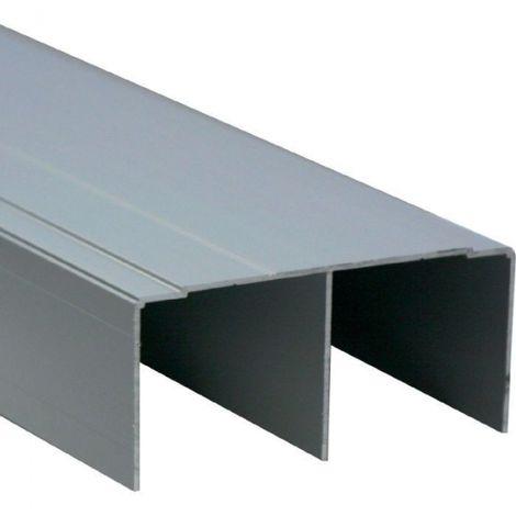 Rail haut de guidage - Noir mat - Placardécor