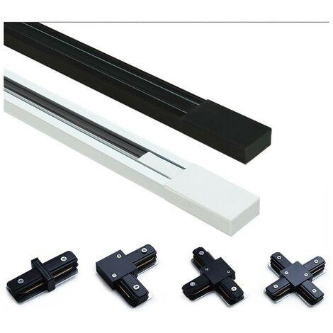 Rail monophasé 200 cm saillie / suspendu