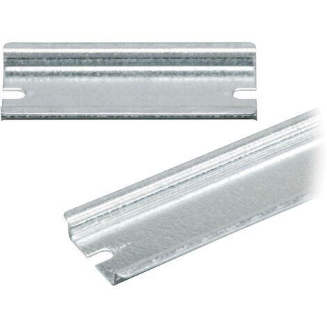 Rail non perforé Fibox 3770648 Tôle dacier 235 mm 1 pc(s)
