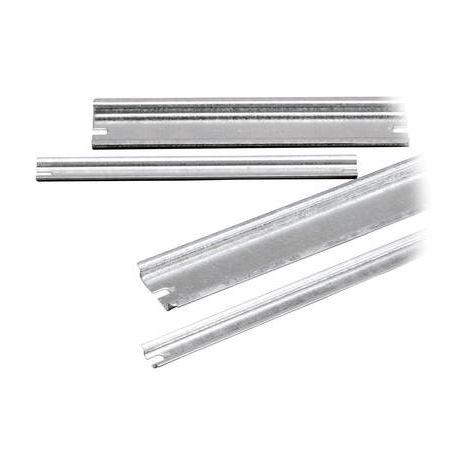 Rail non perforé Fibox 5514082 Tôle dacier 100 mm 1 pc(s)