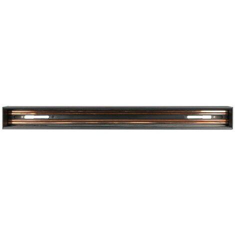 Rail Pour Luminaire Magnétique 0,5m Noir V-TAC