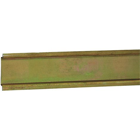 Rail symétrique prof 7,5 mm - boîtier indus Atlantic IP 66 l 150 - L. 130 mm