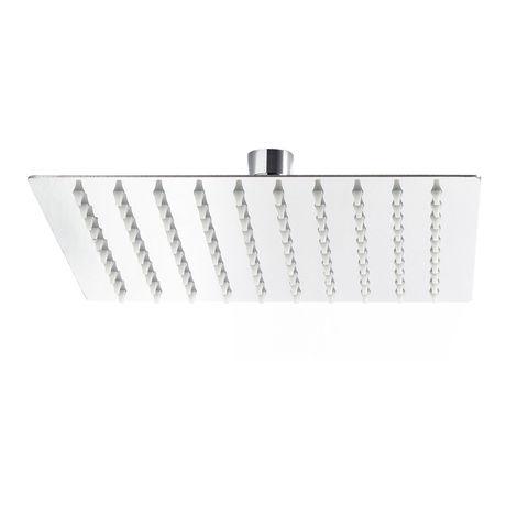 Rain Overhead Shower Head Square Stainless Steel 30x30cm
