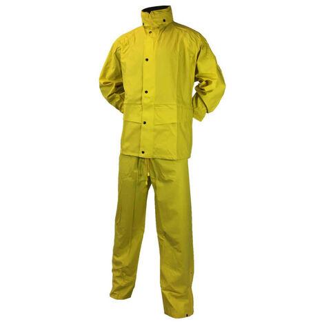 Rain set IDEM PRODUCTION diflex - yellow - Size XXL