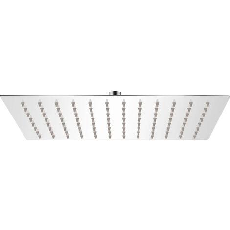 Rain Shower Head Stainless Steel 20x30 cm Rectangular