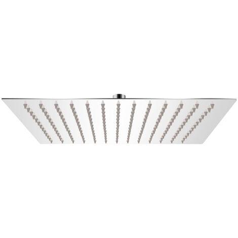 Rain Shower Head Stainless Steel 30x30 cm Square