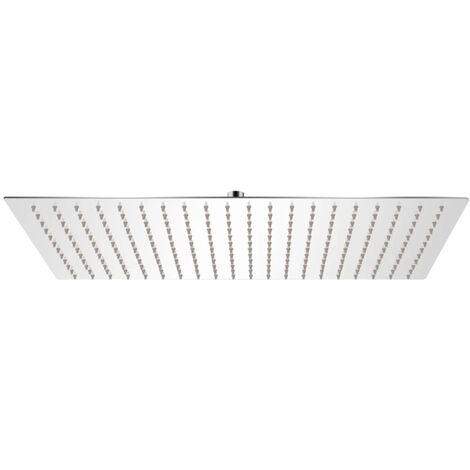 Rain Shower Head Stainless Steel 30x50 cm Rectangular
