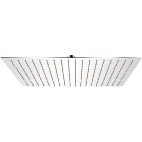 Rain Shower Head Stainless Steel 50x50 cm Square