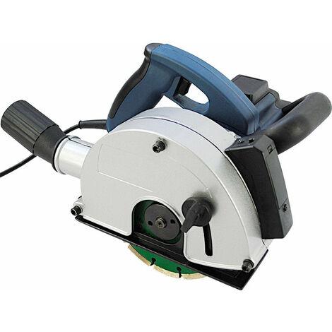 Rainureuse laser 1700W 4000 tr/min, avec 2 disques diamantés Ø 150 mm raccord d'Aspirateur - Or