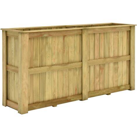 Raised Bed 196x50x100 cm Impregnated Pinewood