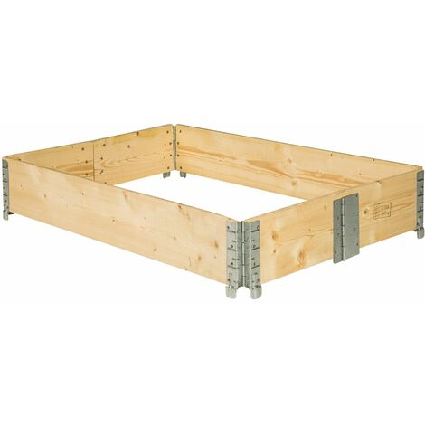 Raised bed - garden box, raised planter, garden bed