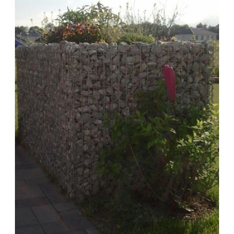 Raised garden , mesh size 5 cm, 100x100x80 cm, wall thickness 10 cm