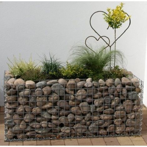 Raised garden , mesh size 5 cm, 100x40x40 cm, wall thickness 10 cm