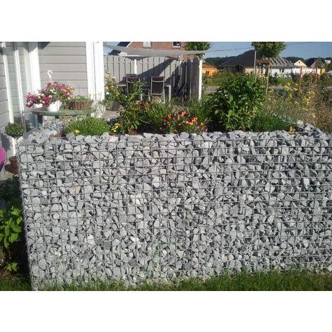Raised garden , mesh size 5 cm, 100x90x100 cm, wall thickness 15 cm