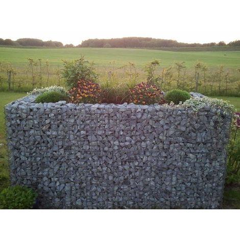 Raised garden , mesh size 5 cm, 130x80x80 cm, wall thickness 10 cm