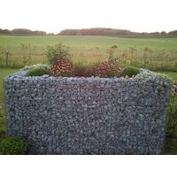 Raised garden , mesh size 5 cm, 130x80x80 cm, wall thickness 10 cm