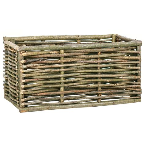 Raised Garden Planter 80x40x40 cm Hazel Wood