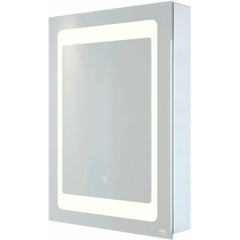 RAK Aphrodite 1-Door Mirrored Bathroom Cabinet 700mm H x 500mm W
