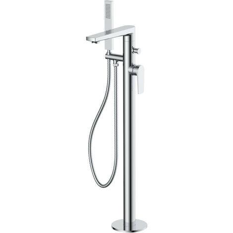RAK Blade Freestanding Bath Shower Mixer Tap - RAKBLD3014