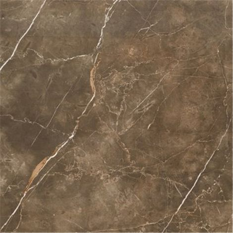 RAK Ceramics Atlantis Marble Brown Polished Tiles (59.5 x 59.5)