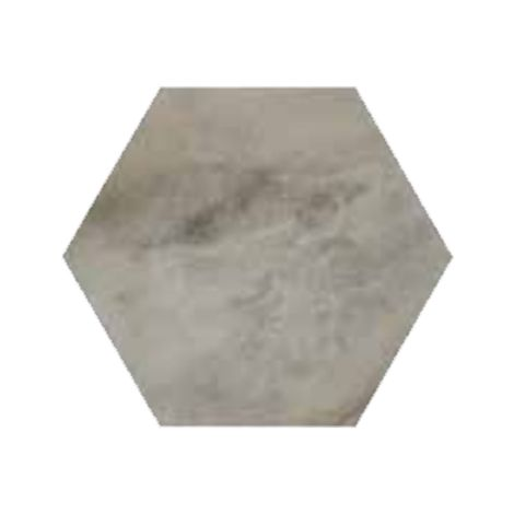 RAK Ceramics Country Brick Grey Hexagonal Tiles (20 x 23)