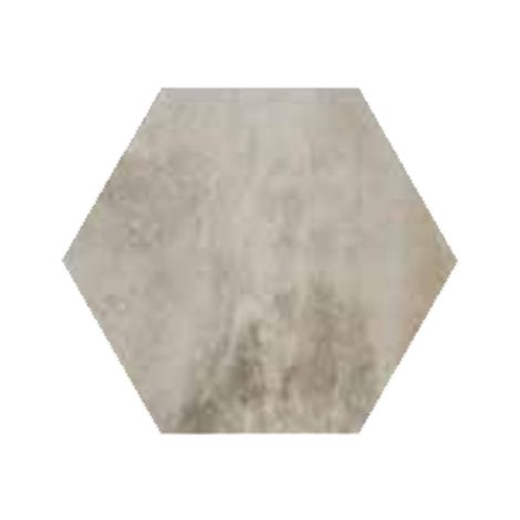 RAK Ceramics Country Brick Light Grey Hexagonal Tiles (20 x 23)