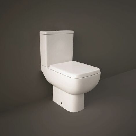 RAK Ceramics Series 600 Close Coupled Toilet Soft Close Seat