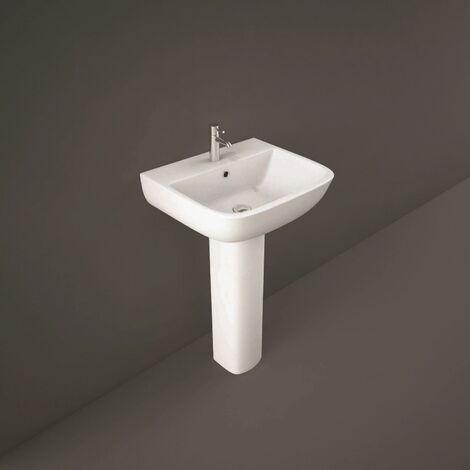 RAK Ceramics Series 600 Full Pedestal Bathroom Sink