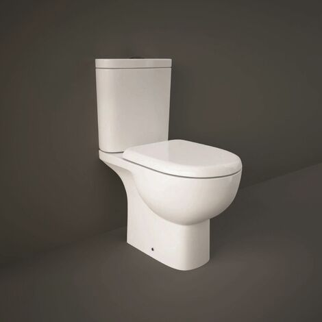 RAK Ceramics Tonique Access Close Coupled Toilet Soft Close Seat