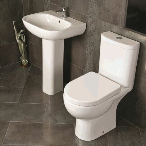 RAK Ceramics Tonique Cloakroom Suite