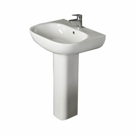 RAK Ceramics Tonique Full Pedestal Bathroom Sink