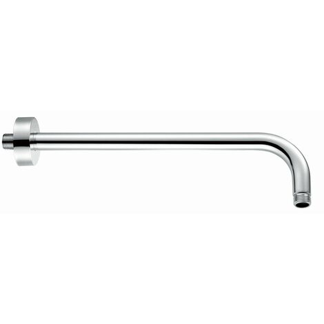 RAK Chrome 300mm Round Wall Arm - RAKSHW0003