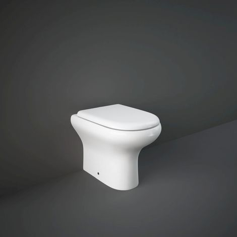 RAK Compact Back to Wall Toilet Pan with Soft Close Seat - COMBTWPAN/010