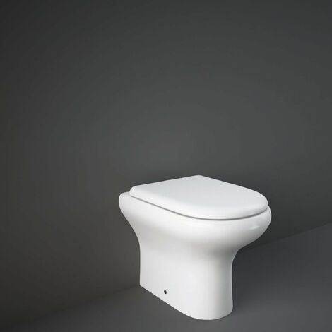 RAK Compact Back to Wall Toilet WC 510mm Projection - Soft Close Seat
