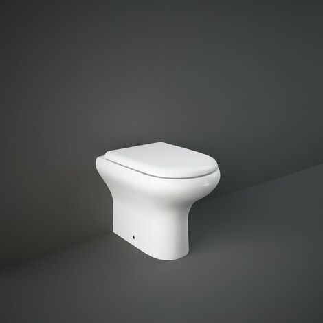 RAK Compact Back To Wall WC Pan & Soft Close Seat