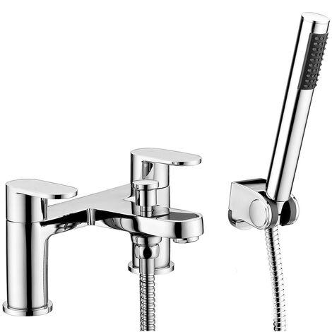 RAK Compact Bath Shower Mixer - Chrome