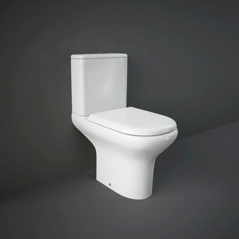 RAK Compact Close Coupled Toilet with Soft Close Seat - COMPAK010