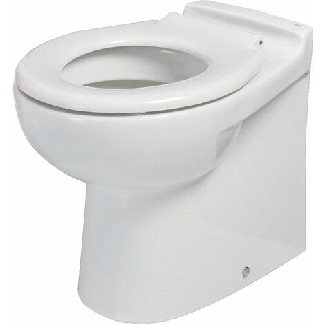 RAK Compact Rimless Junior Back to Wall Toilet WC 480mm Projection - Ring Seat