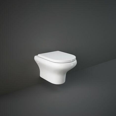 RAK Compact Wall Hung WC Pan & Soft Close Seat