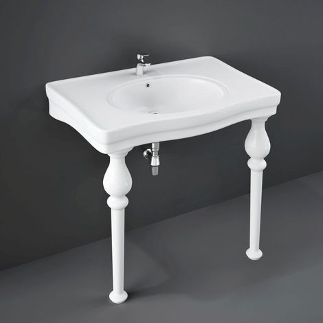 RAK Console Alexandra 850mm Basin with 1 Tap Hole - CONSMAL1