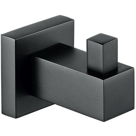 RAK Cubis Black Robe Hook - RAKCUB9909B