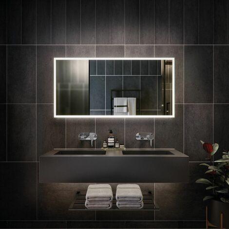 RAK Cupid LED Bathroom Mirror Demister Anti-fog Shaver Socket IP44 600 x 1200mm
