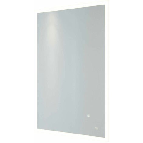 RAK Cupid Portrait LED Mirror with Switch and Demister Pad 700mm H x 500mm W Illuminated