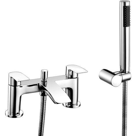 RAK Curve Bath Shower Mixer Tap - Chrome