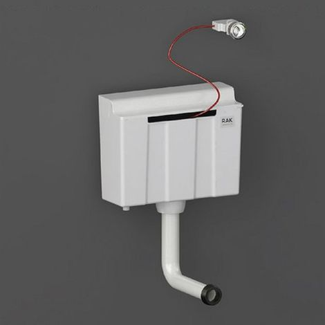 RAK Ecofix Dual Flush Concealed Cistern for Furniture with Bottom Inlet and Push Button - FS12SRAKBI