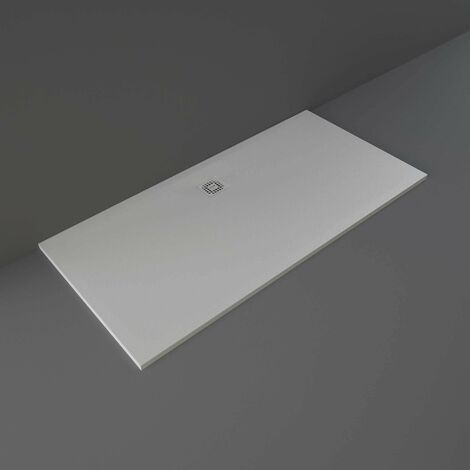 RAK Feeling Bathtub Replacement Rectangular Shower Tray 1700mm x 900mm Solid Grey
