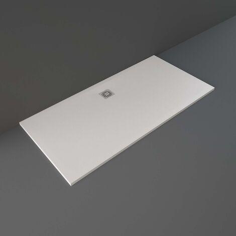 RAK Feeling Bathtub Replacement Rectangular Shower Tray 1700mm x 900mm Solid White